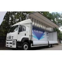 Quality Isuzu Chassis Small Cargo Truck 6*4 5 Tons Wings Opaning Truck for Transporting Dry Cargo for sale