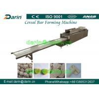 China Puffed rice cereal Bar Forming Machine with low energy consumption on sale