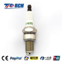 China Motorcycle spark plug F6TC match for BP6ES /WR7DP/W7DC/A-Line 4/N9YC/W20EPR/C62LS on sale