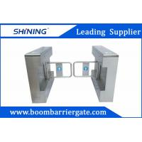 China 1.5mm Steel High Speed Gate / Swing Barrier Gate For Biometric Access Control wholesale