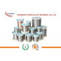 China High Resistance Nickel Alloy 0.018-10.0mm Diameter / Electric Heating Wire For Resistor wholesale