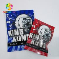 China Zip Herbal Incense Packaging Bags , Chemical Voodoo Spice Smoke Bag For Potpourri wholesale