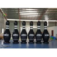 China Customized Ourdoor Inflatable Sports Games , Airtight Human Bowling Ball on sale