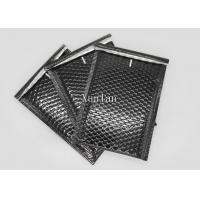 China Shiny And Matte Black Padded Envelopes , DVD Poly Mailers Shipping Envelopes on sale