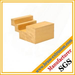 China C38500 CuZn39Pb3  CuZn39Pb2 CW612N C37700 floor non slip copper alloy extrusion profile sections wholesale