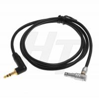 China 3.5mm 1/8'' TRS to Right Angle Lemo 00B 5 Pin Audio Cable for ARRI Alexa Mini Z CAM E2 on sale