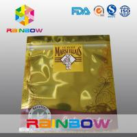 China Food Grade Material Gold Middle Foil Bag Packaging Eco - Friendly wholesale