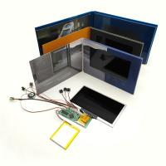 China 7 Inch Digital LCD Video Greeting Card / Video Module 300-2000MAH Battery wholesale