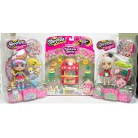 China Shopkins Fashion Spree Tropical and Shoppies Rainbow Kate and Sara Sushi wholesale