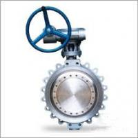 Quality API 609 Gearbox Operated Butterfly Valve 16 Inch Lug Ends , Zearo Sealing for sale