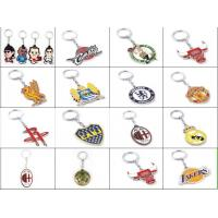 China Basketball and Football Game metal keychain wholesale