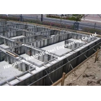 China Composite Reinforced 1-3mm Metal Floor Decking For Concrete wholesale