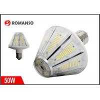 China 50W LED Corn Light Bulb 7500 Lumens 3000K Replacement for 250W Metal Halide Bulb , HID , CFL , HPS wholesale