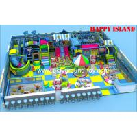 Quality Standard Kids Indoor Adventure Playground For Amusement Park North America for sale