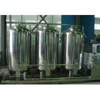 China Stainless Steel Beverage Processing Equipment , 0.75kw Juice Processing Machine wholesale