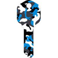 Buy cheap Camouflage Designs Custom House Key Blanks , Fashion Colored Key Blanks from wholesalers