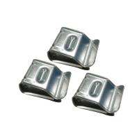 Quality Australian Standard 2x 4 Mmsq Solar Wire Clips , Silver Metal Cable Clips for sale