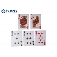 China Water Proof Rfid Card Security Smart Plastic Poker Card Thickness 0.35mm on sale