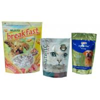 China Large Capacity Pet Food Packaging Bag , Bottom Gusseted Poly Bags For Food wholesale