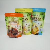 China Durable Custom Stand Up Pouch Packaging 250 500 Gram Shake Powder Coffee Beans Bags wholesale