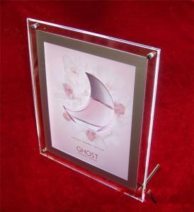China acrylic vase with photo frame wholesale