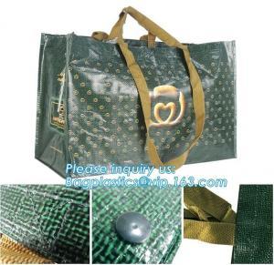 China Promotional plastic laminated custom shopping pp woven bag,OEM ODM Customized eco friendly pp woven supermarket shopping wholesale