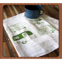 China Wholesale price high quality microfiber tea towel with printing wholesale