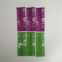 China Full Color Printing Shrink Sleeve Labels Food Grade Plastic Material For Bottle wholesale