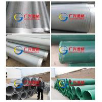 China manufacture water well perforated slot filter sand control continuous slot v wire wrapped water well perforated wholesale