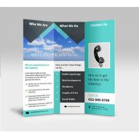 China tri-fold flyer printing, glossy flyer printing,booklets printing service,Custom booklet printing on sale