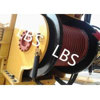 China Single Drum Marine Anchor Winch Left And Right Rotation Direction Lebus / Helical Grooving wholesale