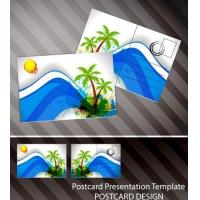 China Souvenir scenery lenticular 3D printing postcard 3D flip picture post card price wholesale