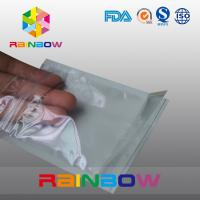China Font Anti Static Packaging Bag / Stand Up Pouch With One Side Transparent wholesale