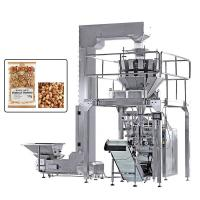 China Vertical Multi Heads Weigher Packing Machine For Nuts Dry Fruits Roast Peanuts wholesale