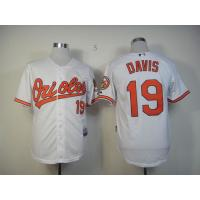 China mlb jerseys baltimore orioles #19 davis white wholesale