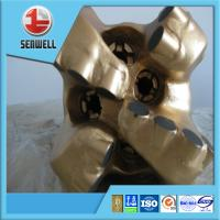 """Buy cheap API standard 4 blades 12-1/4"""" matrix body  & steel body PDC bits for drilling from wholesalers"""