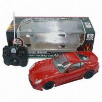 China R/C Car 4-channel with Light, 34.0 x 15.0 x 13.0cm Box Size wholesale
