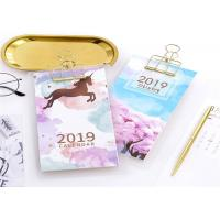 China Hard Cover Customized Table Calendar With Logo Embossing Or Debossing on sale