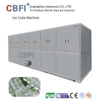 China Air Cooled Cube Ice Making Machine Large Capacity 3000Kg /24h wholesale