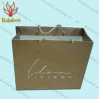 China Recycled Kraft Customized Paper Bags With Handles For Shopping wholesale
