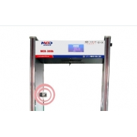 China New Fast Pass Walk through gate body themprature Metal detector door frame on sale