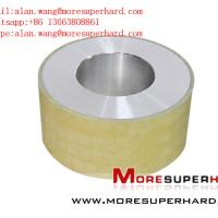 Buy cheap Vitrified Bond Diamond Centerless Wheel for Precision Grinding of PDC alan.wang@moresuperhard.com from wholesalers