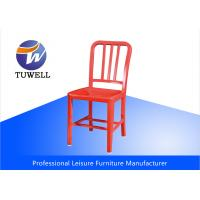 China Leisure Mod Aluminum Modern EMECO Navy Side Chair With Powder Coating wholesale