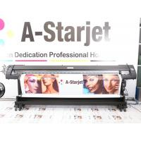 China Double Side Print 180cm Large Format Solvent Printer 8 Colors Use Windows 7 wholesale