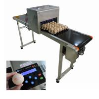 China High Performance Egg Printing Machine Can Print Large Or Micro Characters wholesale