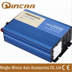 China DC 12V 24V power usage , 50hz / 60hz 1200W Surge power 600w-pure sine wave car power inverter wholesale