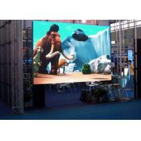 China Super Slim Full Color Led Stage Screen Rental For Backdrop 500*500mm Cabinet Size wholesale