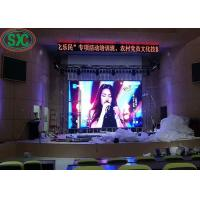 Buy cheap Customized Indoor Stage SMD LED Screen 2500nits Brightness For Fixing from wholesalers