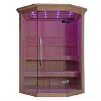 Buy cheap Monalisa M-6040 Canadian cedar wood sauna room African white pine sauna room dry from wholesalers