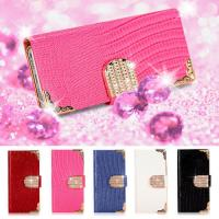 China Diamond Wallet Leather Motorola Moto G Cell Phone Flip Case With Credit Card Slot on sale